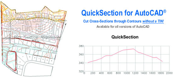 Quick Section for AutoCAD